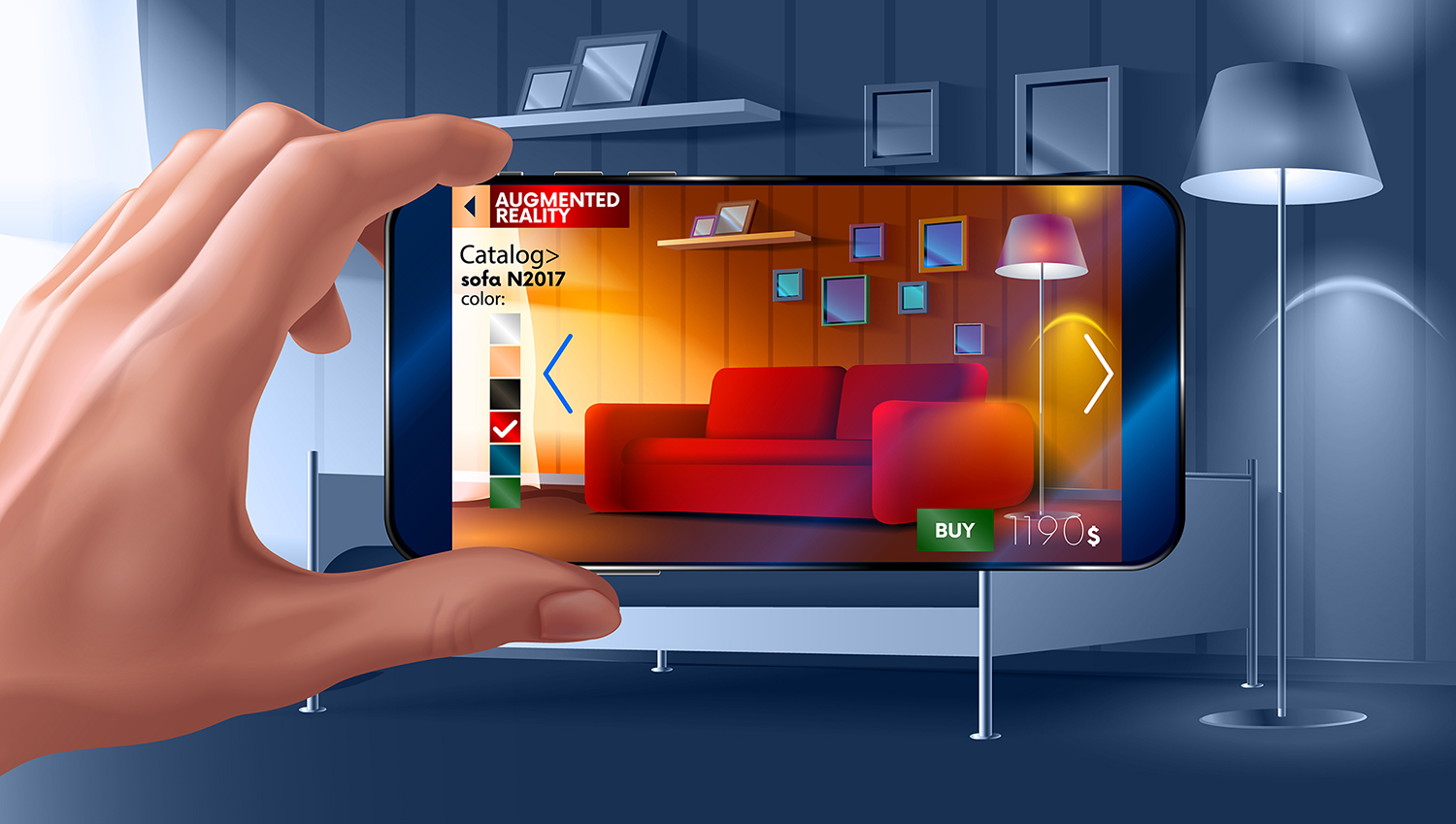 Augmented Reality im Online-Shopping